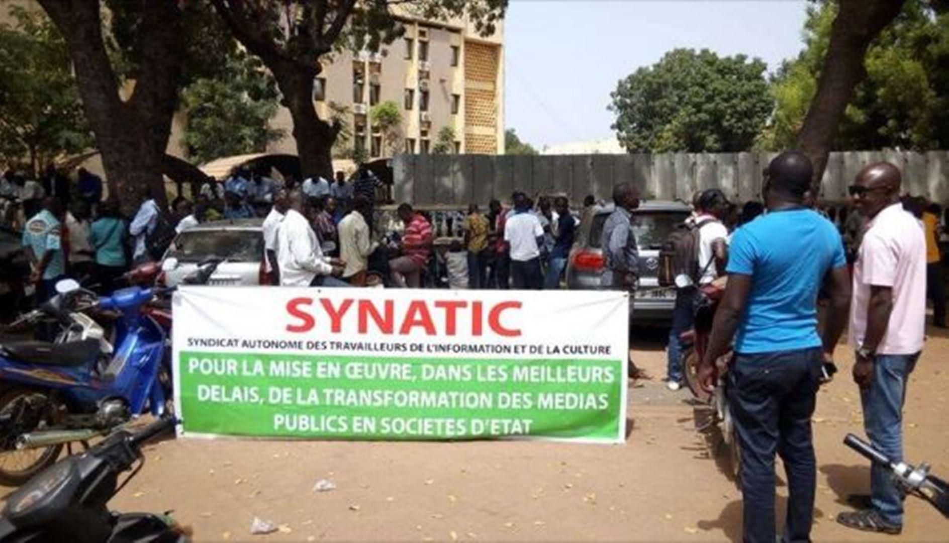 Burkina Faso : Les journalistes des médias publics observent une grève de 24 heures