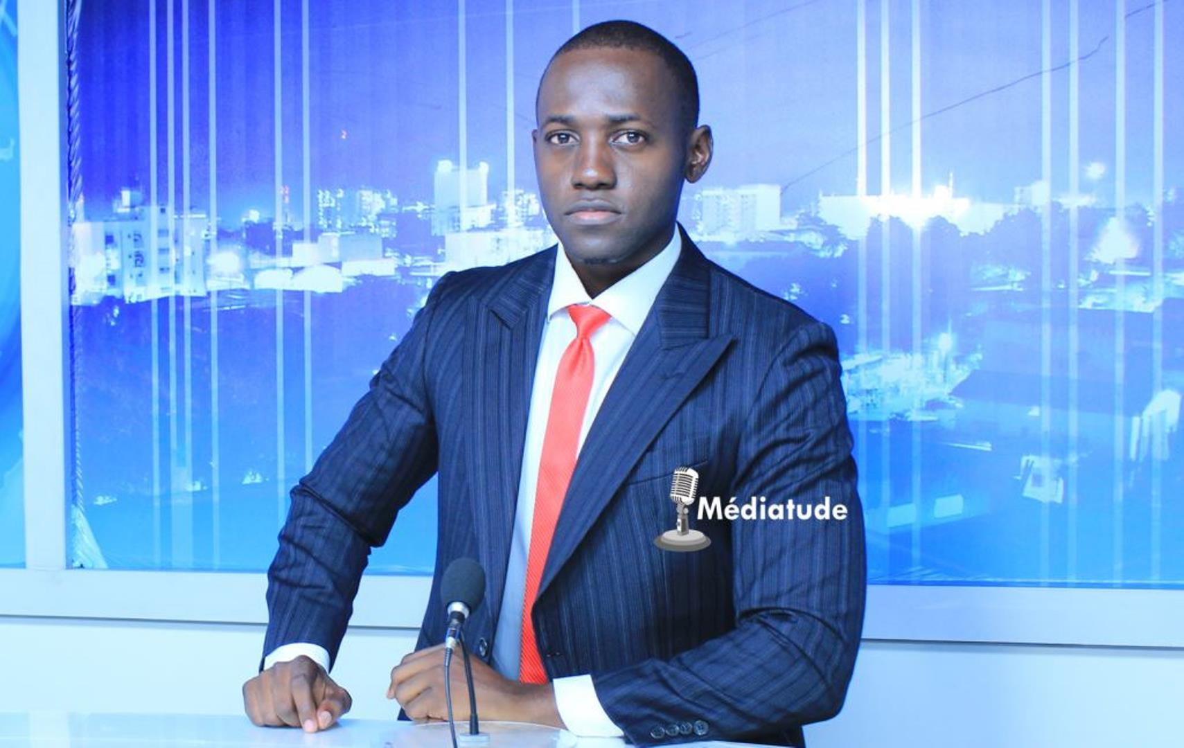 Cédrick Noufele : « C'est un challenge exaltant de présenter le 20h sur la meilleure chaîne de télévision au Cameroun. »