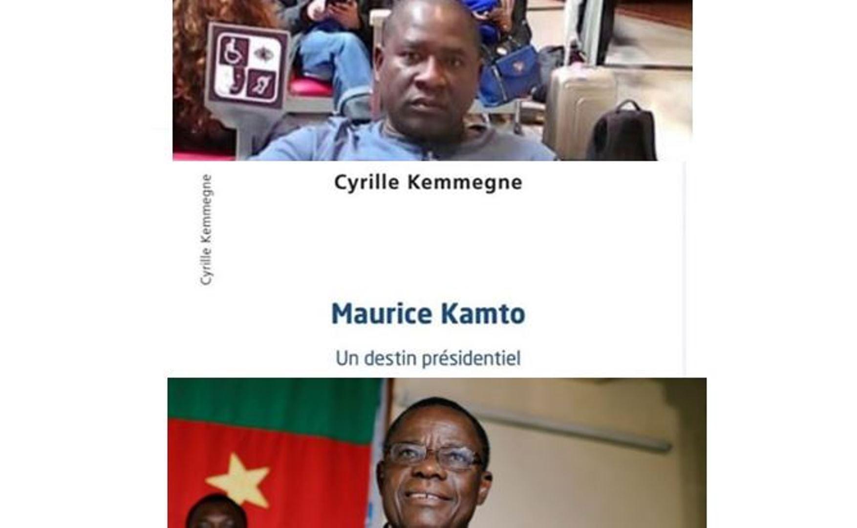 Après un livre sur Paul Biya, Cyrille Kemmegne de la CRTV publie un ouvrage sur Maurice Kamto