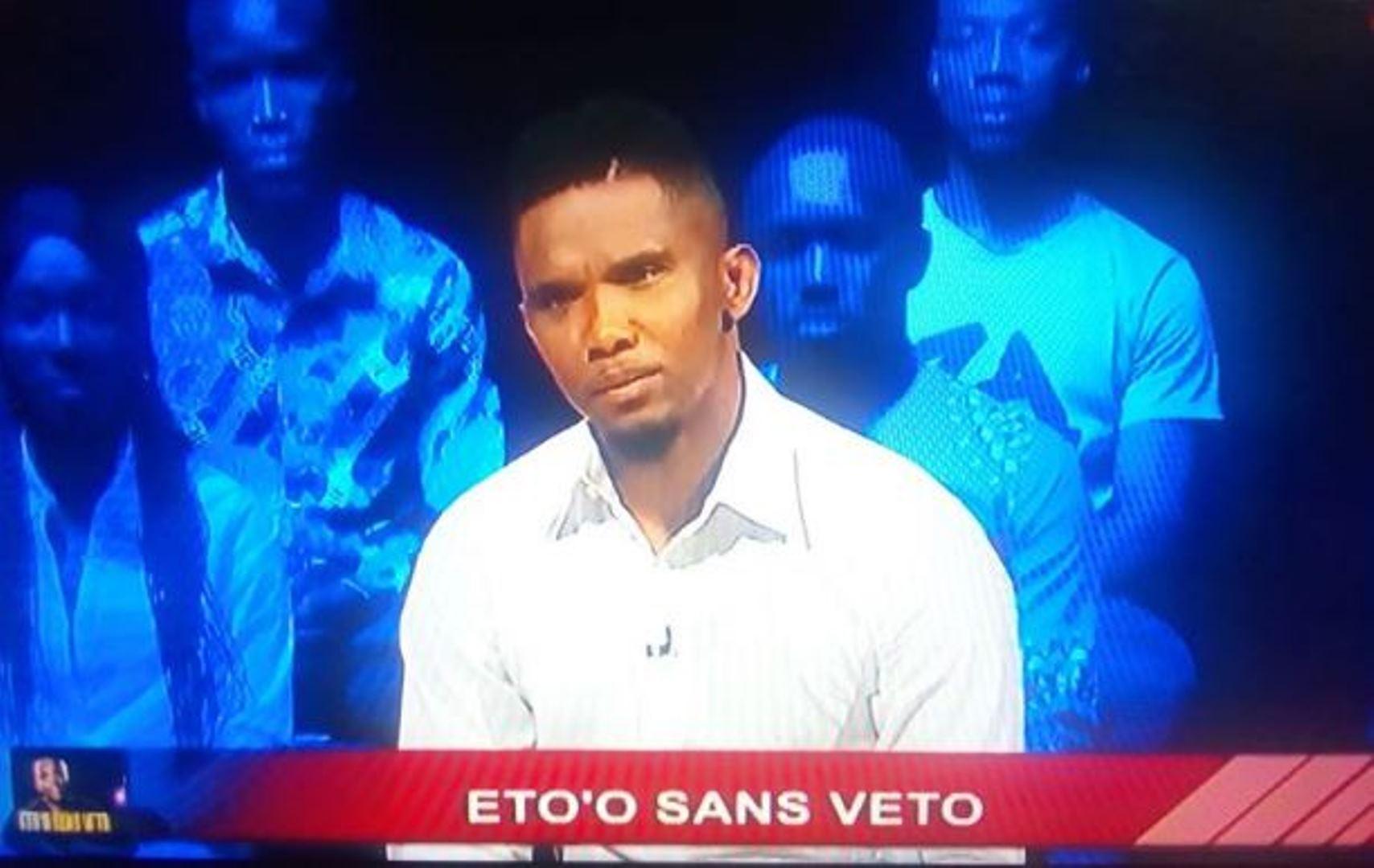 Samuel Eto'o donne les raisons de l'absence d'Equinoxe TV de son entretien vérité