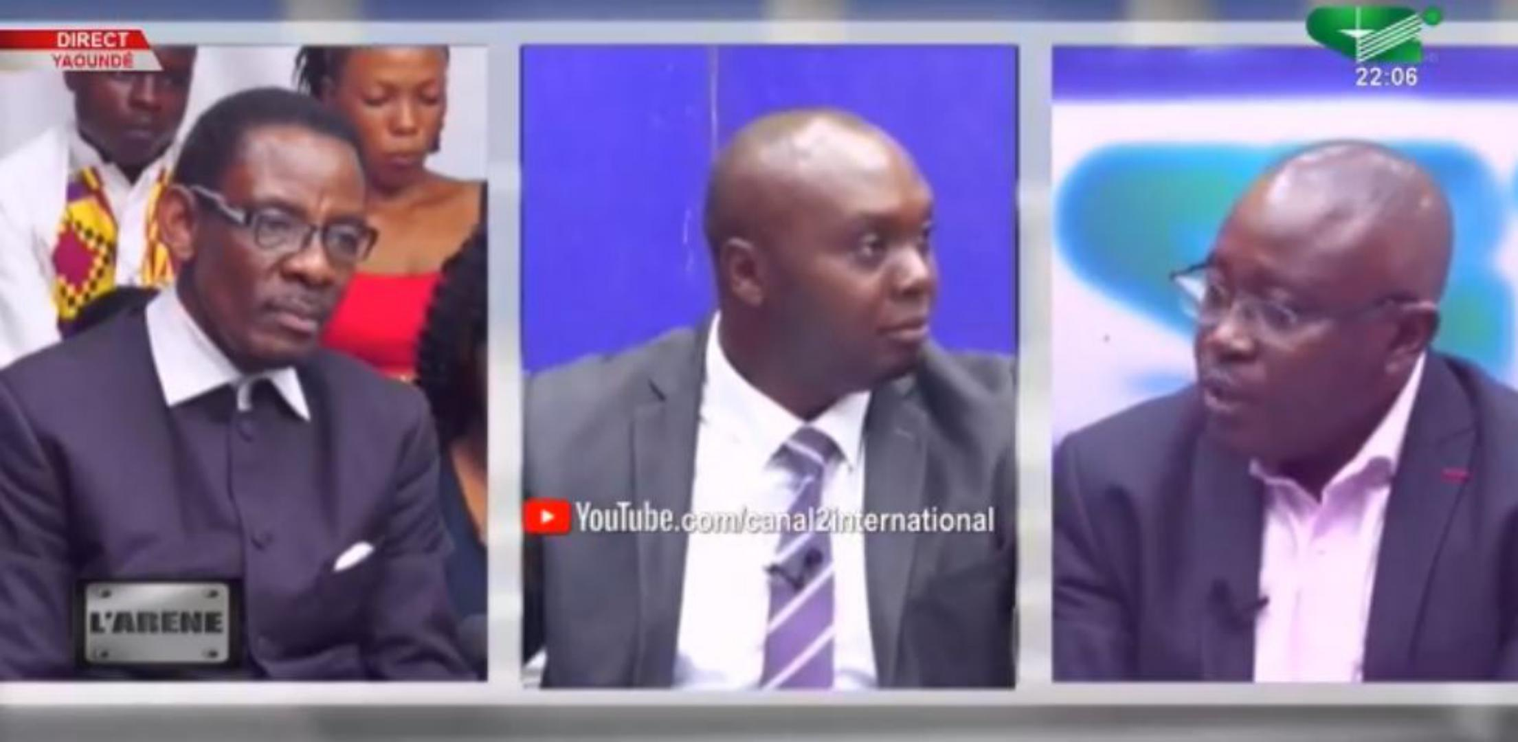 Non ! Canal 2 n'avait pas coupé le micro du professeur Owona sur le plateau de Jean Bruno Tagne en 2018 alors qu'il critiquait Maurice Kamto