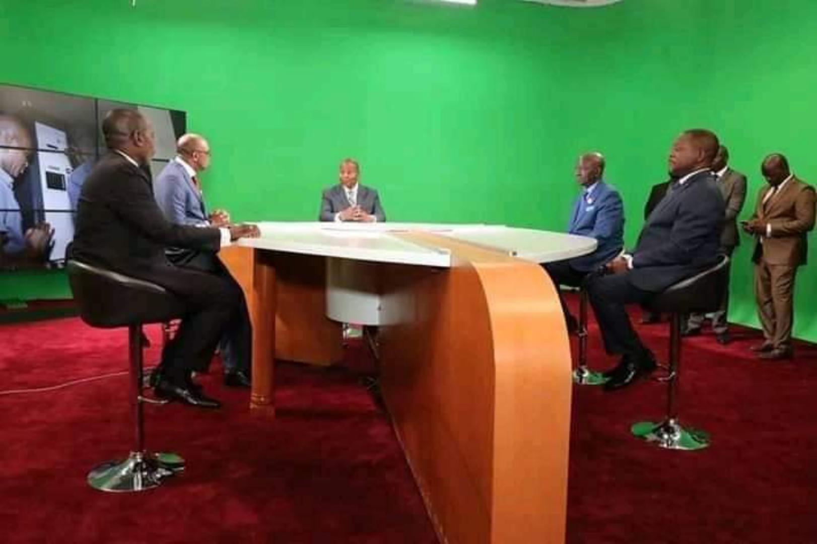 Amougou Belinga livre le chantier de réhabilitation de la télévision publique centrafricaine