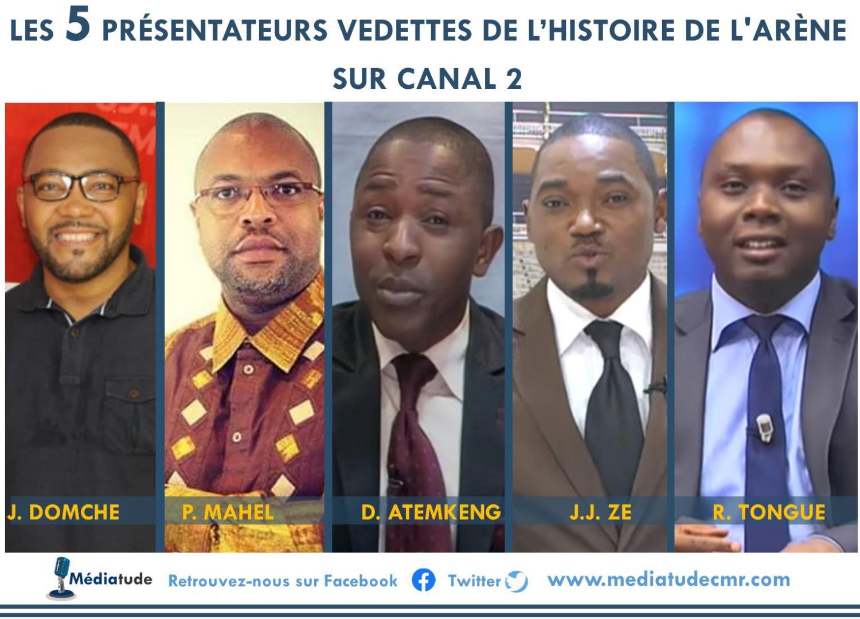 Les 5 présentateurs vedettes de l'histoire de « L'Arène » sur Canal 2