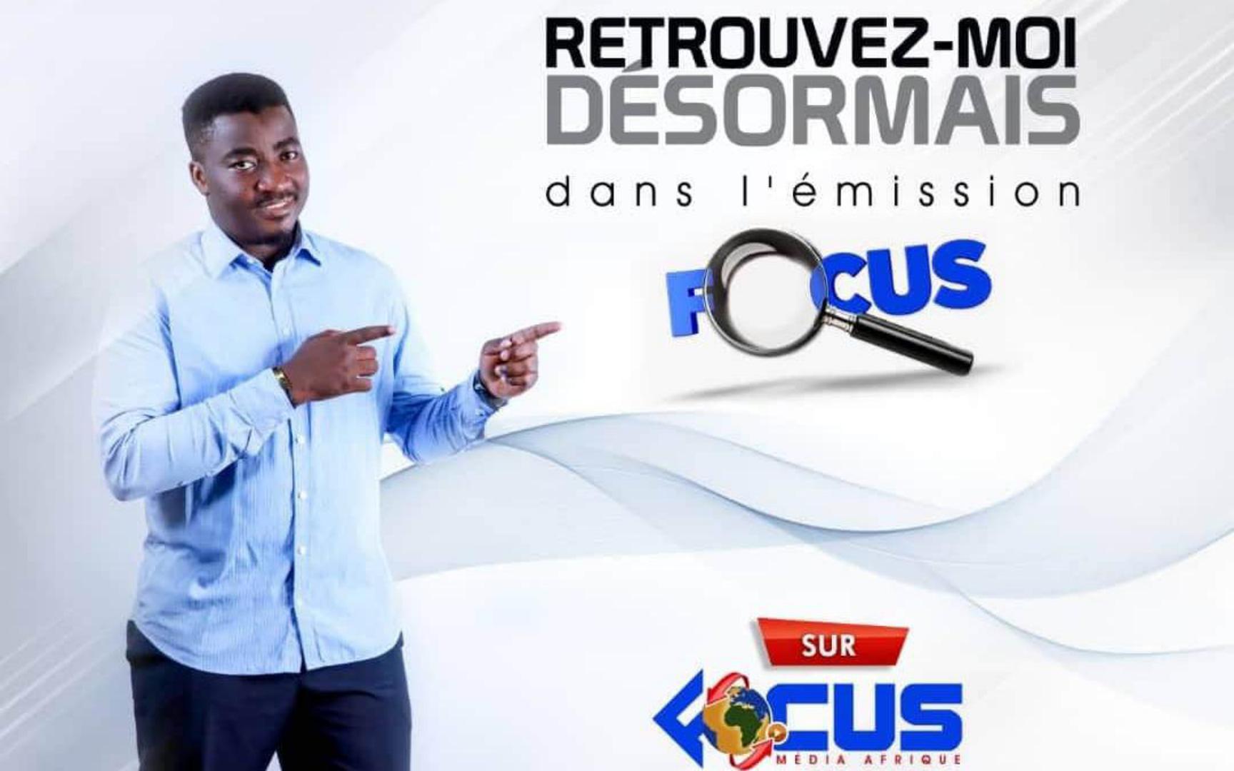 Romaric Tenda vous donne désormais rendez-vous dans la web-émission «Focus»