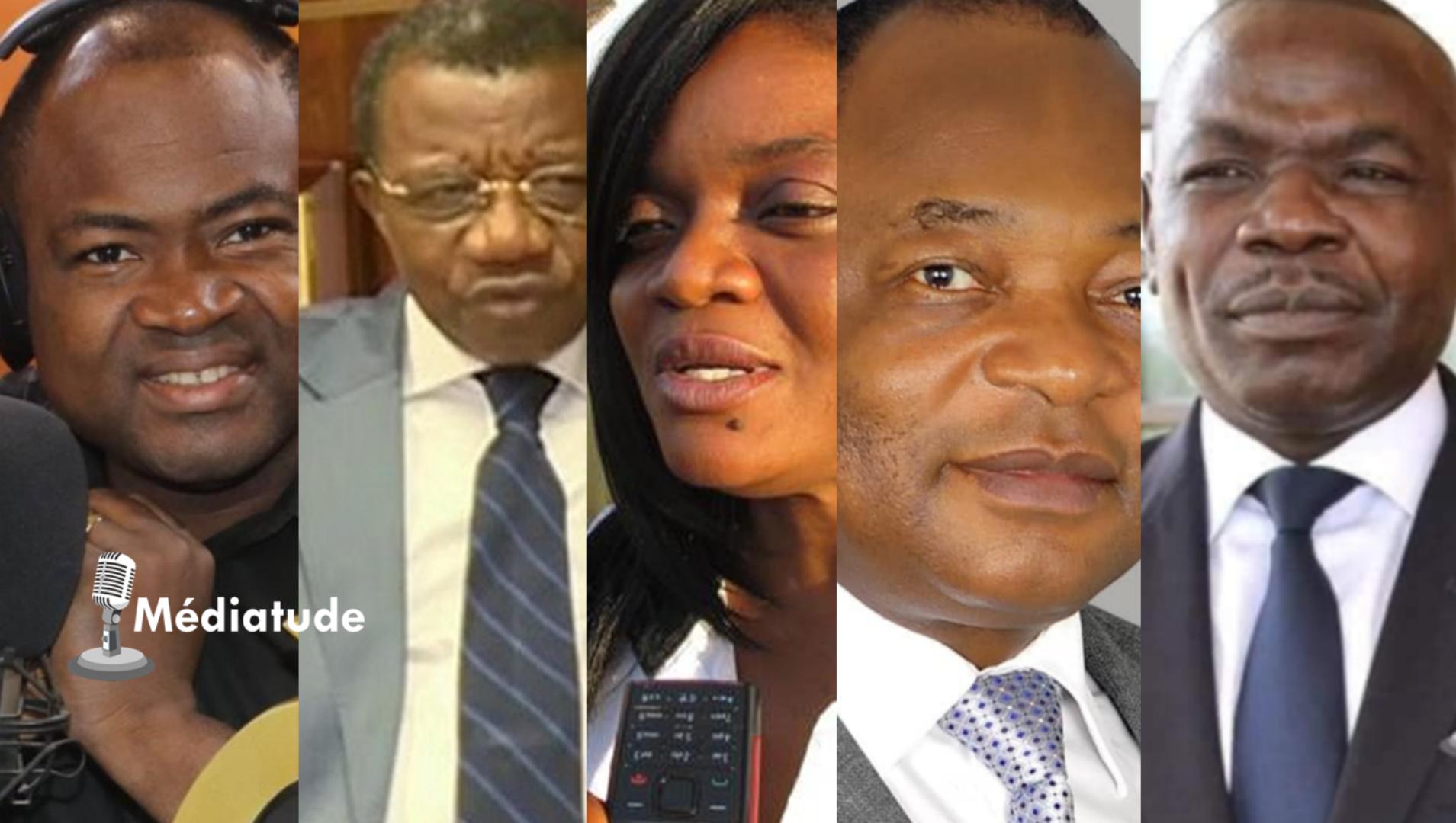 Top 5 des patrons de médias camerounais les plus présents sur leurs antennes