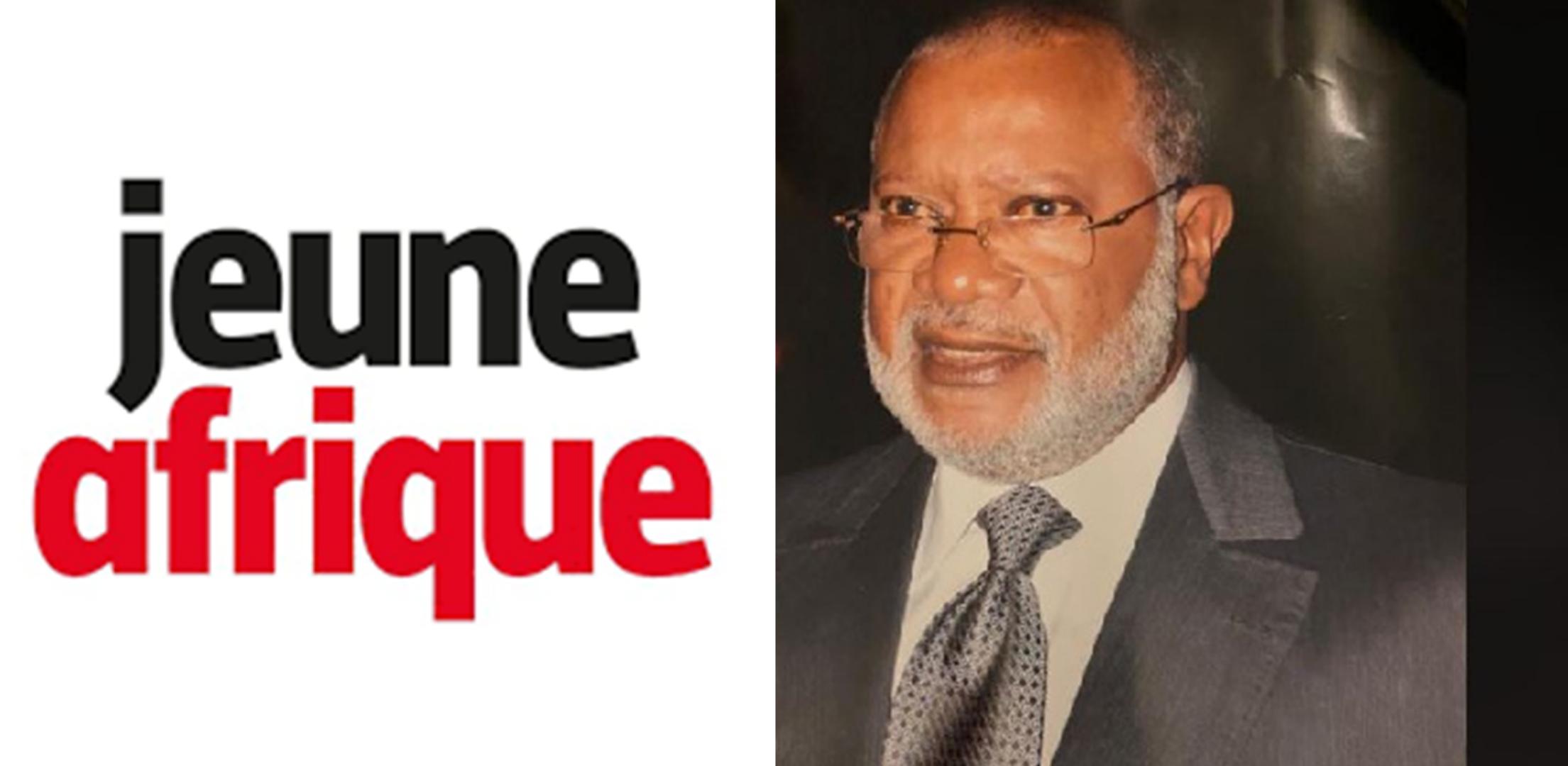 Jeune Afrique présente ses excuses à Alphonse Joseph Bibehe