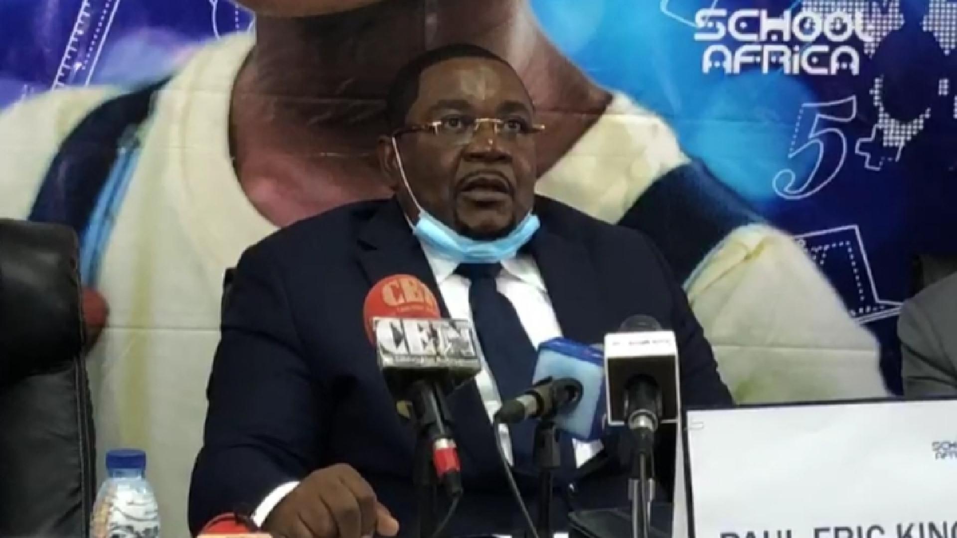 Paul Éric Kingue : « J'ai bénéficié d'une petite contribution de 20 millions de FCFA du Président Paul Biya pour School Tv Africa »