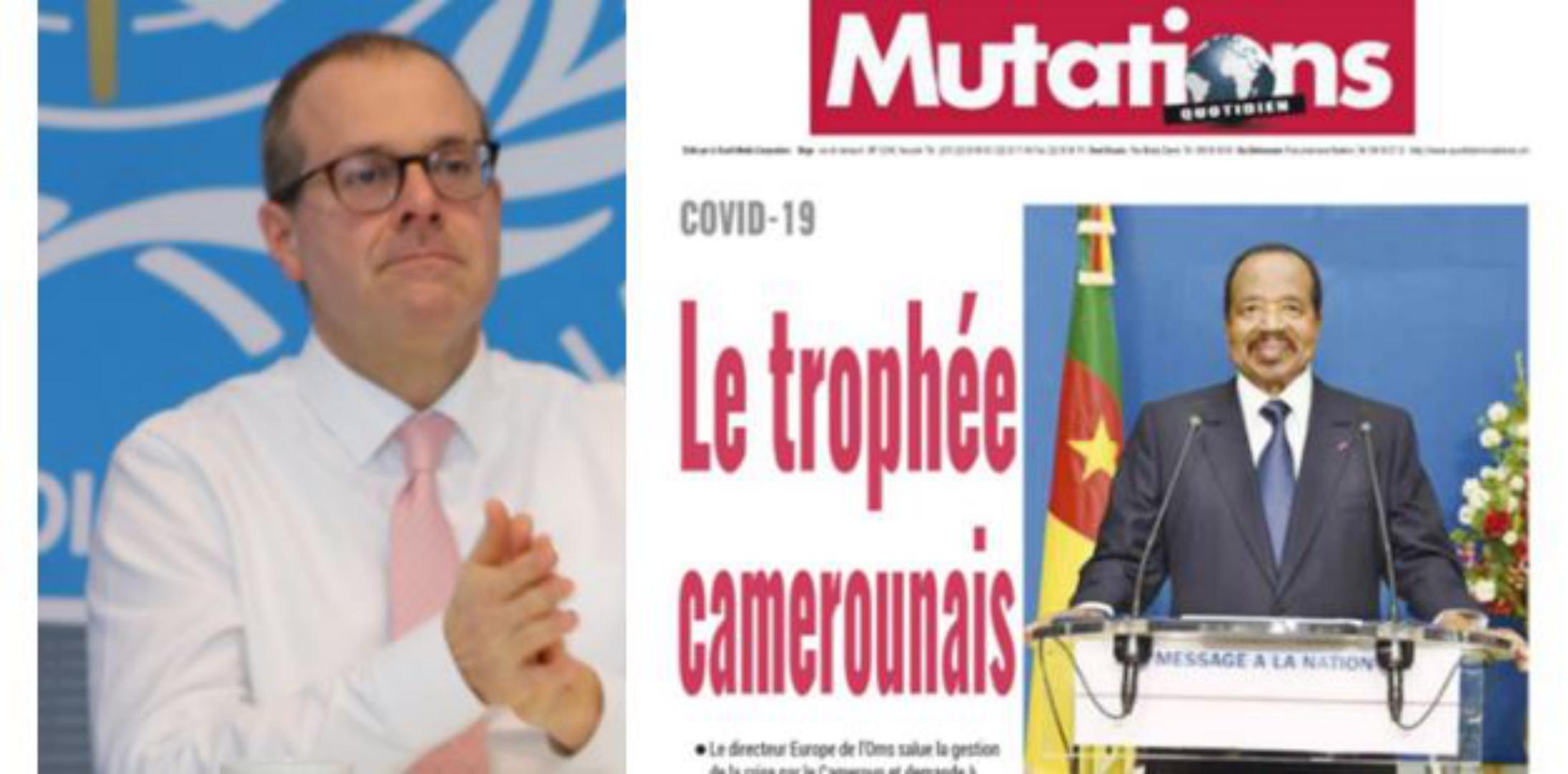 Fact-Ckeck : l'OMS Cameroun ne reconnait pas les félicitations de l'organisation à Paul Biya, attribuées par des médias