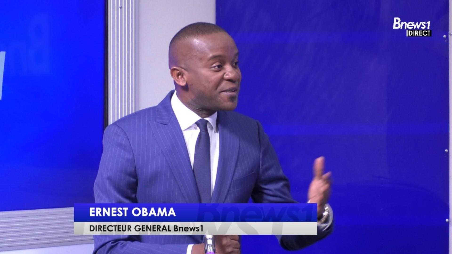 Ernest Obama revient sur le sens de BNews 1