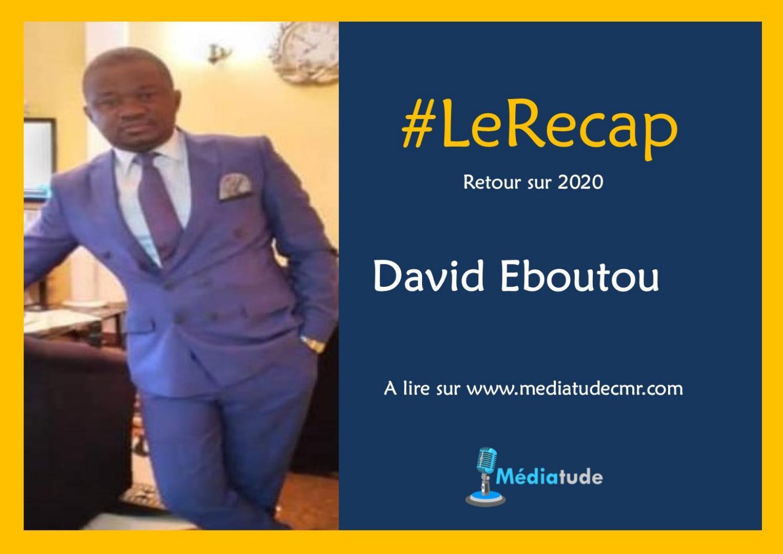 David Eboutou fait son recap de l'année média 2020