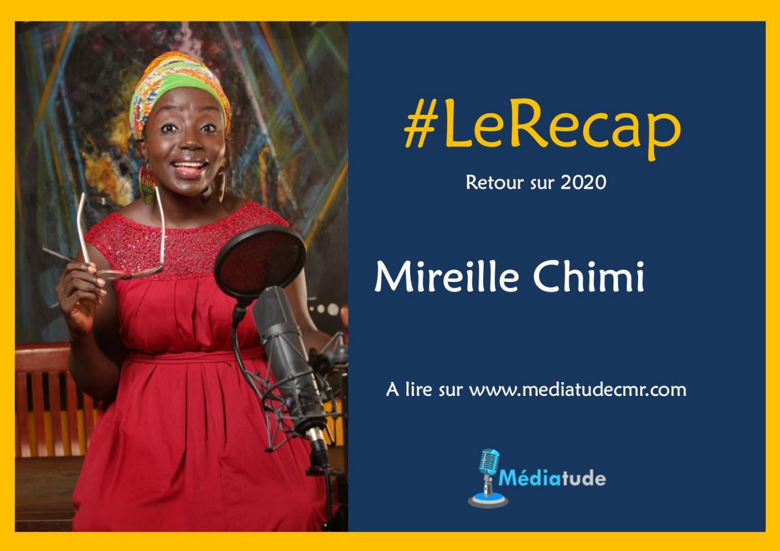 Mireille Chimi fait son recap de l'année média 2020