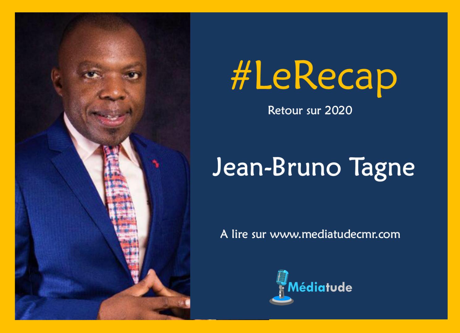 Jean Bruno Tagne fait son recap de l'année média 2020