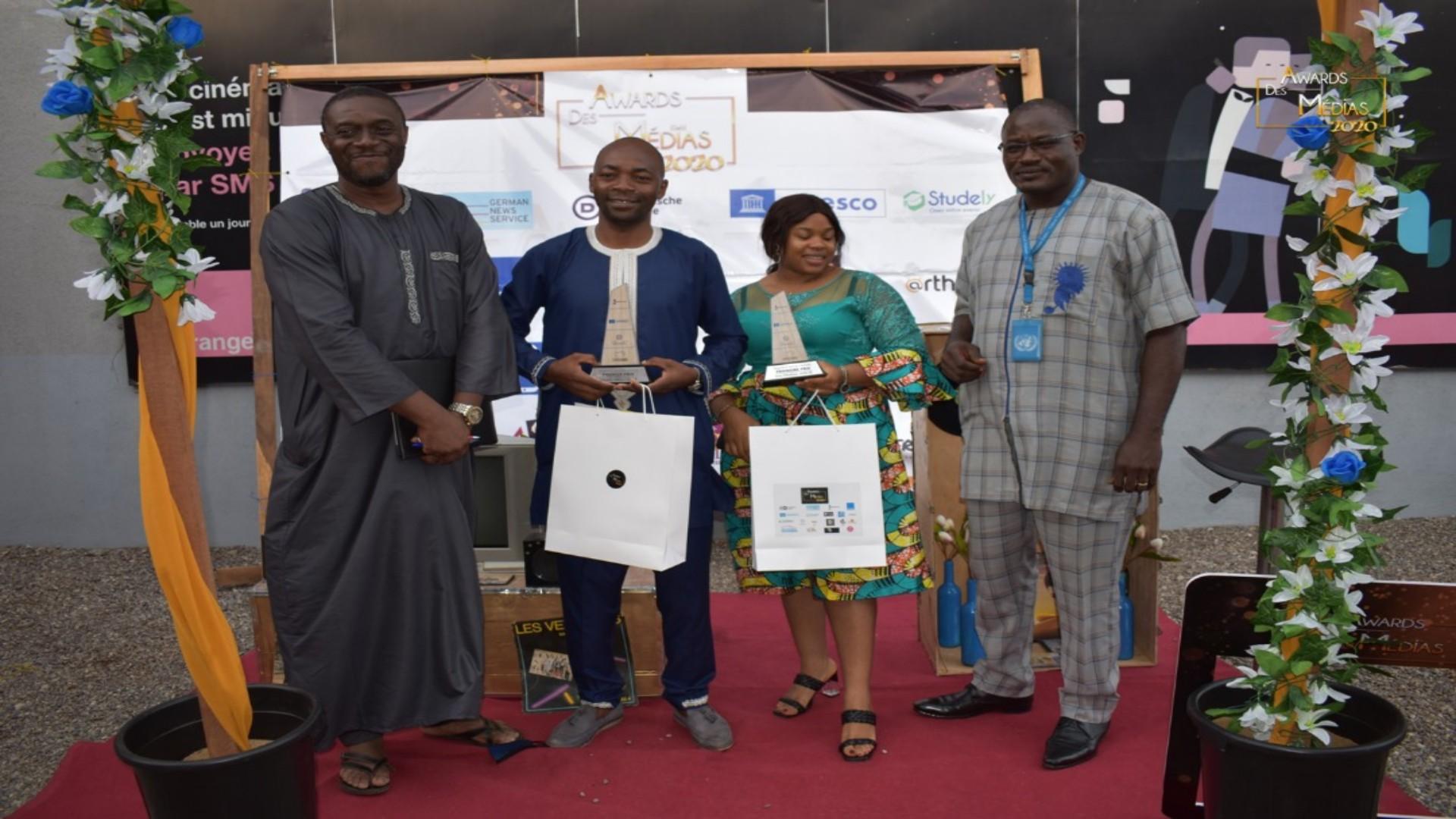 Migrations Média Awards 2021: Charles Biyoo Ella sacré vainqueur