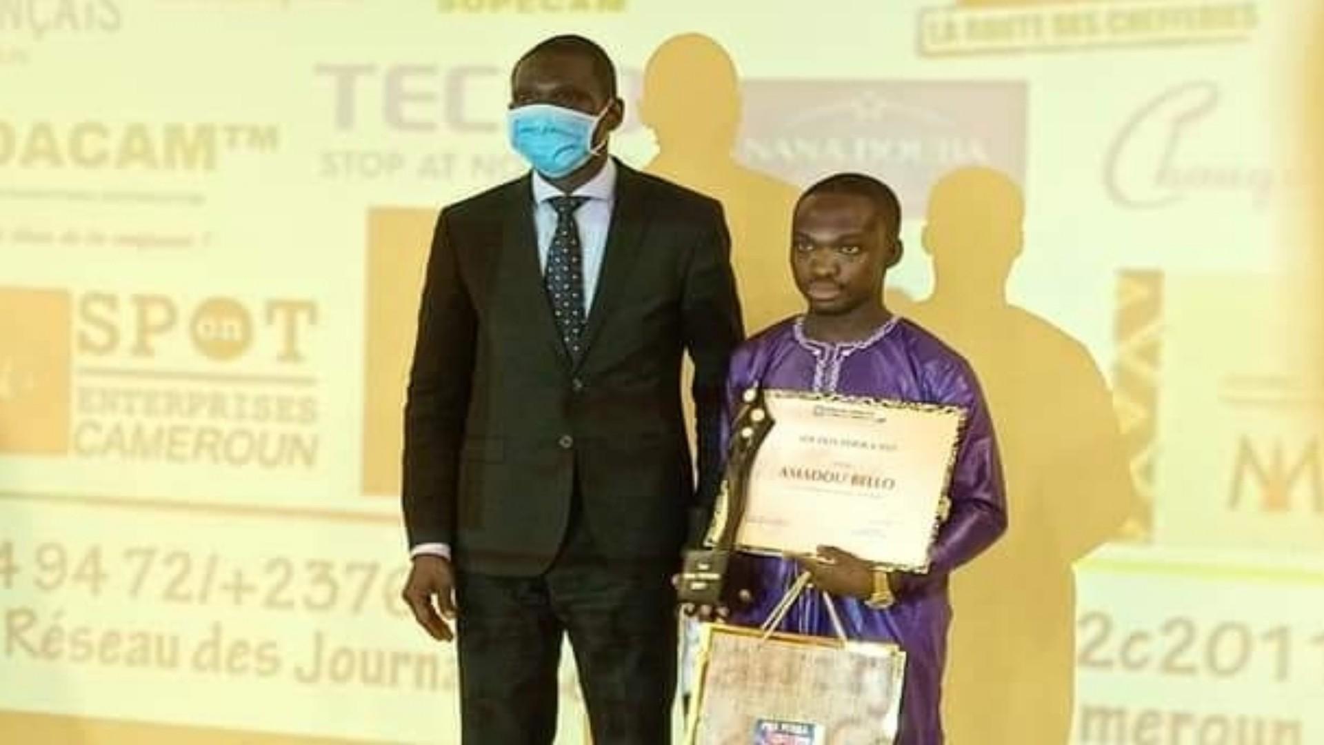 Le lycéen Amadou Bello est le vainqueur du premier prix Périka