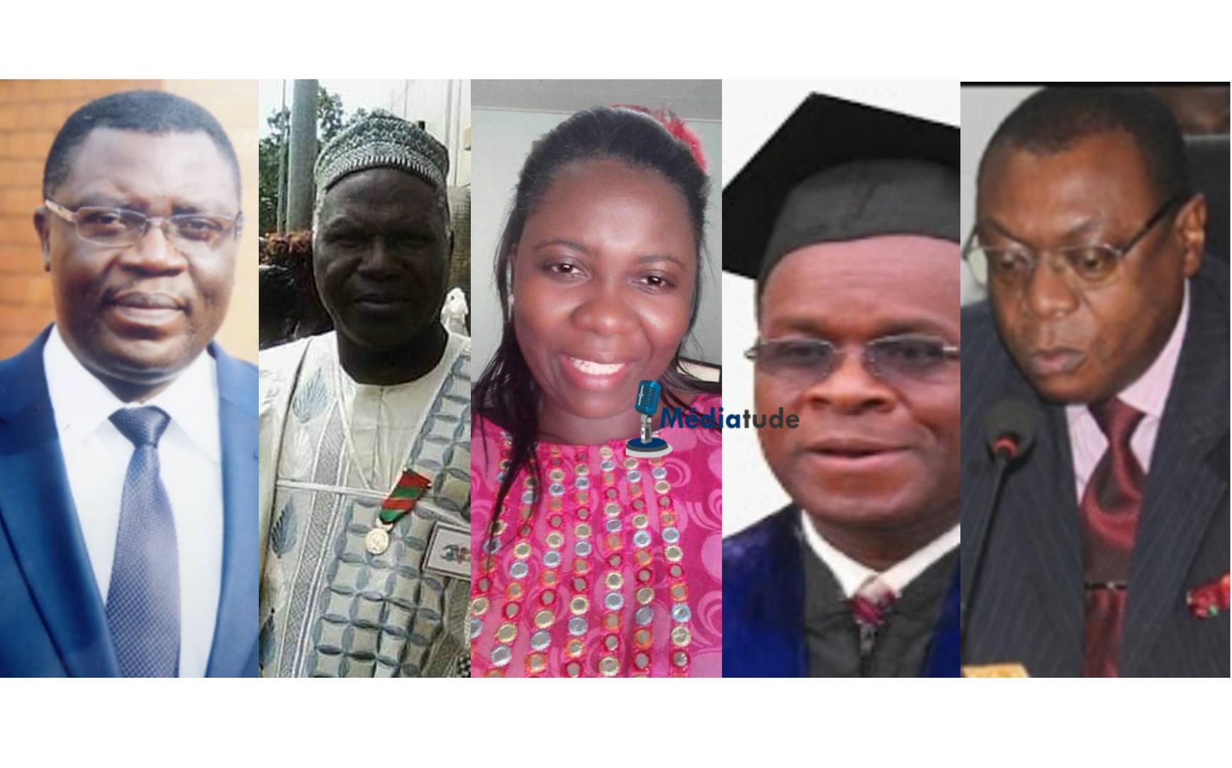 Portraits des nouveaux membres du Conseil National de la Communication